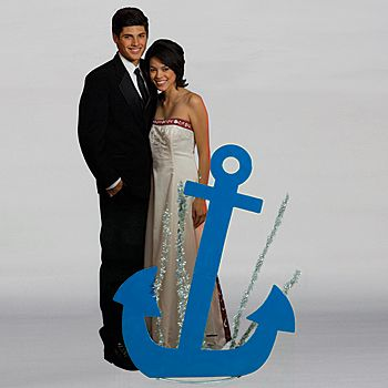 This Ship's Anchor is a must-have for any nautical themed event! Each royal blue ship's anchor is made of metal and measures 4 1/2 ft high x 3 1/2 ft wide x 2 ft deep.