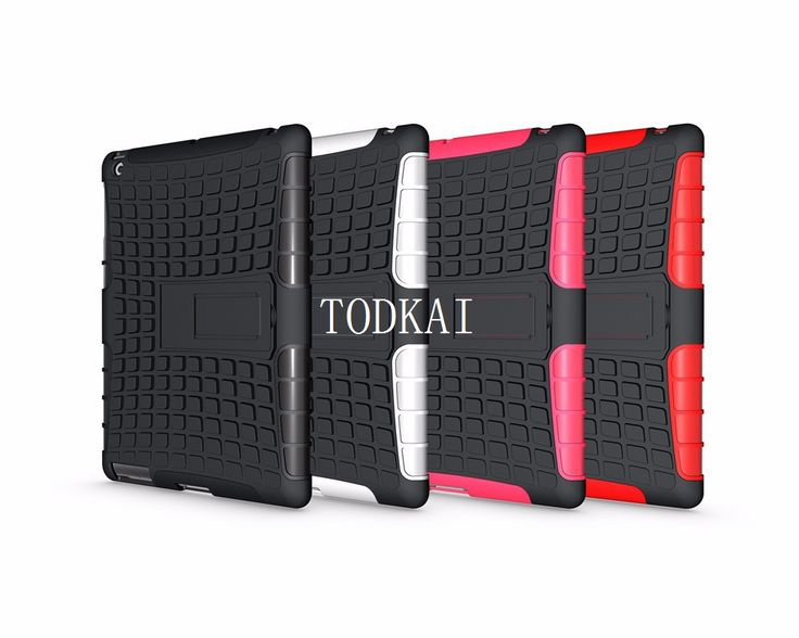 New Tire Hard Back cover Dazzle Heavy Duty Impact Hybrid Armor Kickstand Hard Cover case for ipad 2 3 4 9.7 inch tablet +stylus #jewelry, #women, #men, #hats, #watches, #belts, #fashion
