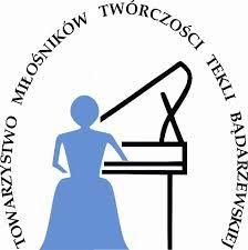 Logo Towarzystwa Miłośników Twórczości Tekli Bądarzewskiej z siedzibą w Mławie- miejscu urodzenia kompozytorki
