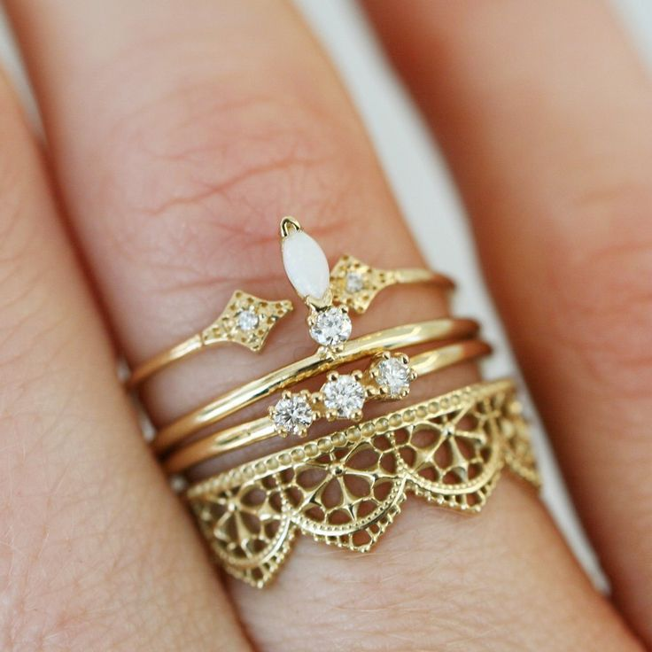 BIANCA LACE RING – katie diamond jewelry