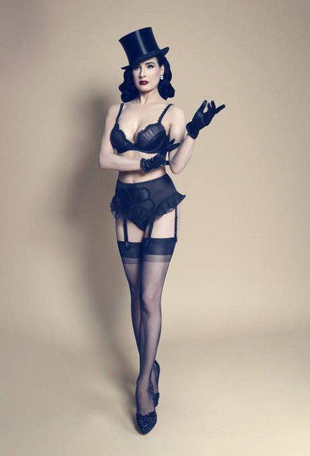 #fashion #lingerie Von Follies by Dita Von Teese Fall 2013 Black Swan