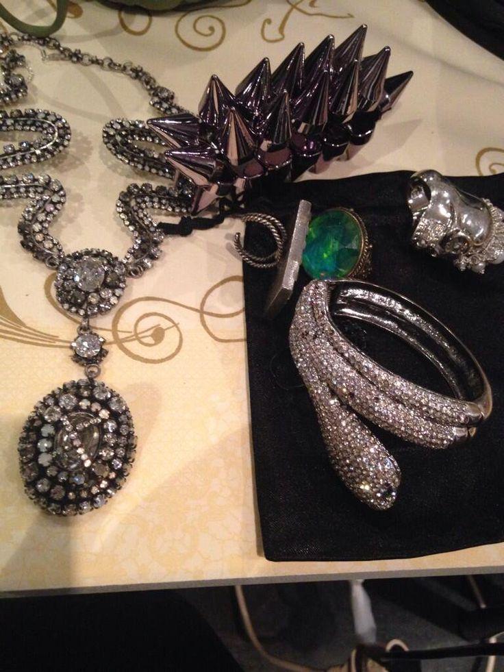 March 9, 2014: Jewellery homage to Alice Cooper, #RockMeetsClassic