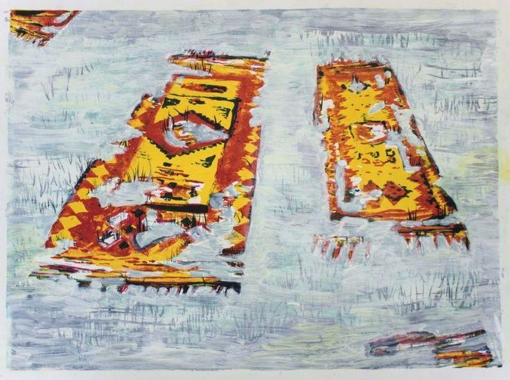 New Blood Art | A Long Time Ago by Sophie Baker | Buy Original Art Online | Artworks by Emerging Artists for Sale