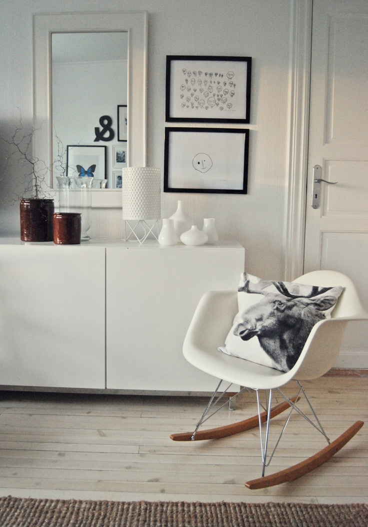 25 best ideas about Eames rocking chair on Pinterest
