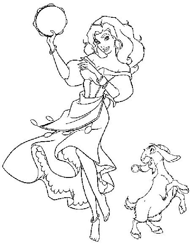 Hunchback Of Notre Dame Coloring Pages 6