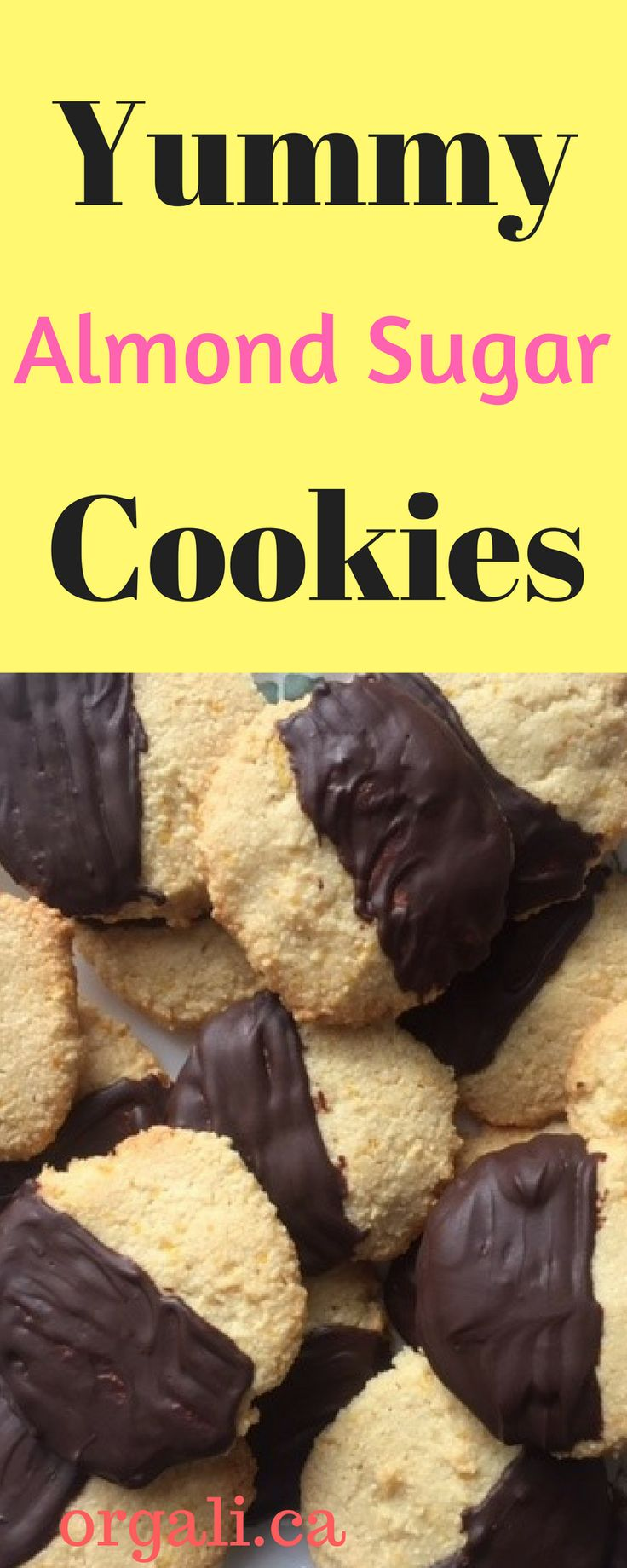 These are the best sugar cookies EVER! Gluten free, dairy free, processed sugar free and soy free. And Paleo friendly. Your picky eater will eat them ALL!