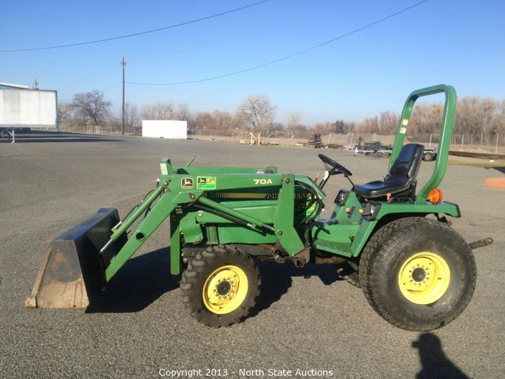 John Deere 955 4X4 Diesel Tractor, with 70A Loader.    Bidding on this item starts Tuesday, February 26, 2013 at 12:00 am (PT).