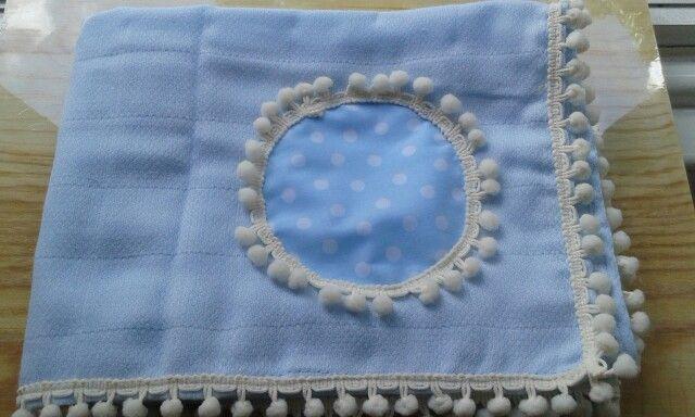 Enxoval fralda de algodão da BabyHome Handmade.