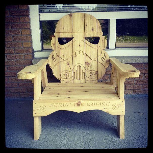 Stormtrooper Chair Thinkgeek Star Wars Pinterest
