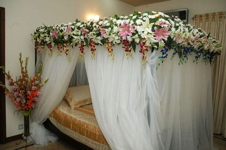 Wedding Room Decorations 10 Ideas To Make The Festivities Memorable Wedding Night Room Decorations Wedding Room Decorations Bridal Room Decor Bridal bedroom decoration ideas for