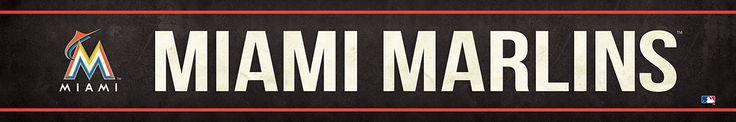 Miami Marlins Street Banner $19.99