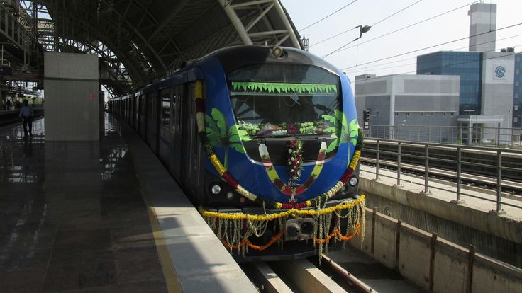 Chennai Metro-First underground section.. Journey from Tirumangalam to K...