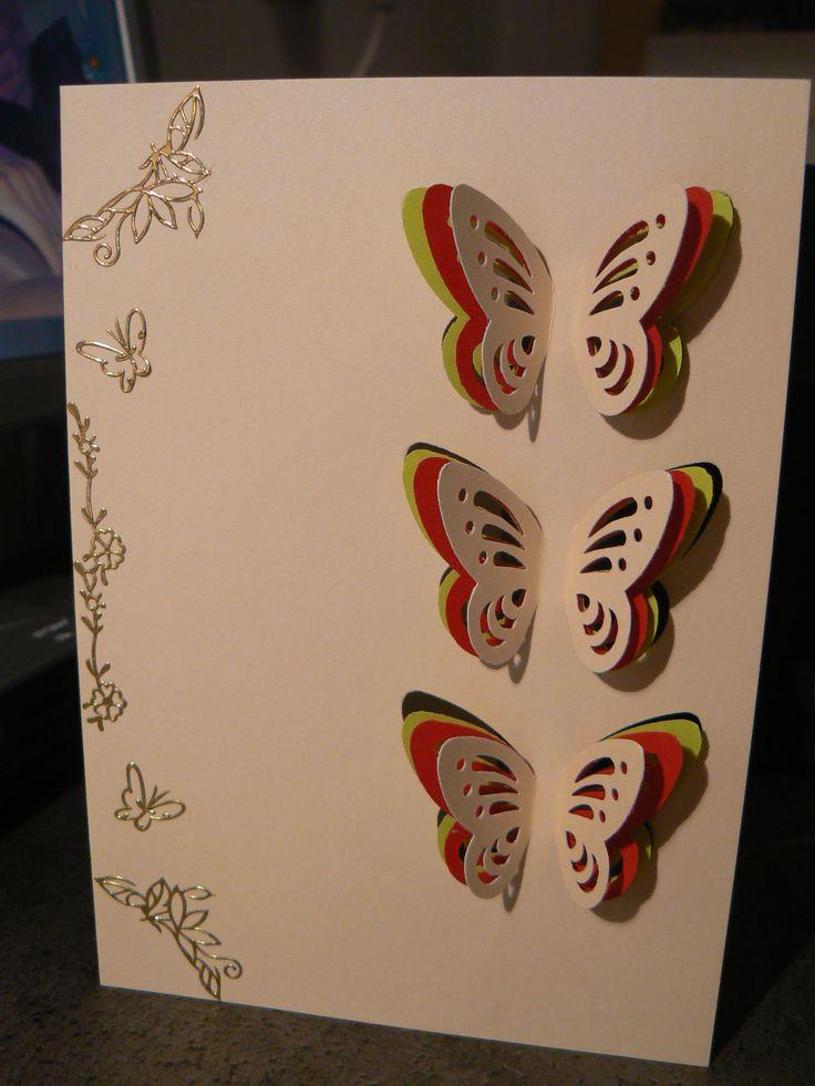 3 vlinder kaart