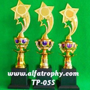 Pengrajin Piala Palembang, Pembuat Piala di Palembang, Model TP-05S | Alfa Trophy | Distributor Trophy Murah