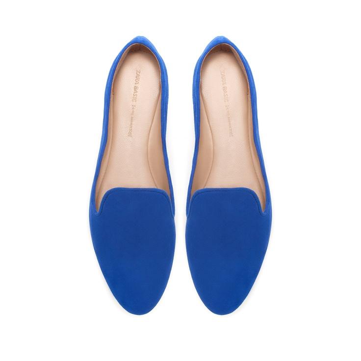 SLIPPER SOFT - Zapatos Planos - Zapatos - Mujer - ZARA México