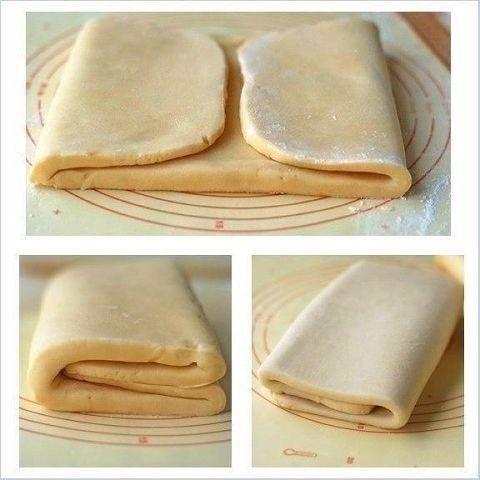 Фото к рецепту: Слоеное тесто для Наполеона