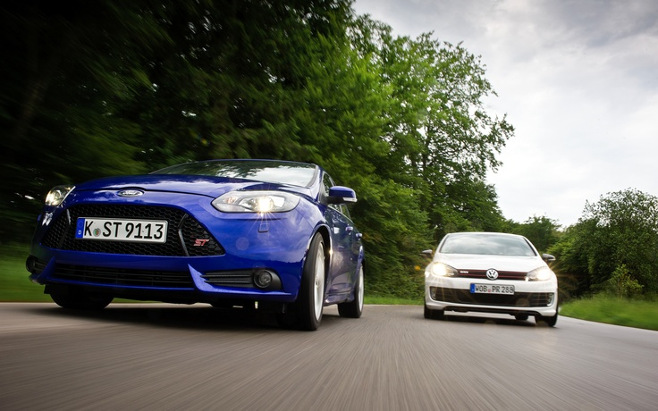 2013 Ford Focus ST vs. 2012 Volkswagen GTI - Automobile Magazine