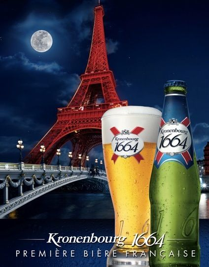 Switch out the summer Corona in your cooler for a classic French beer, like Kronenbourg.