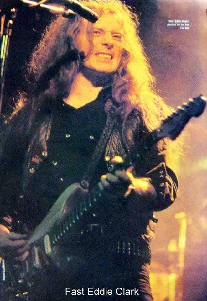 Fast Eddie Clarke, 1982