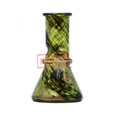"""6"""" Army Soft Glass Water Pipe."""