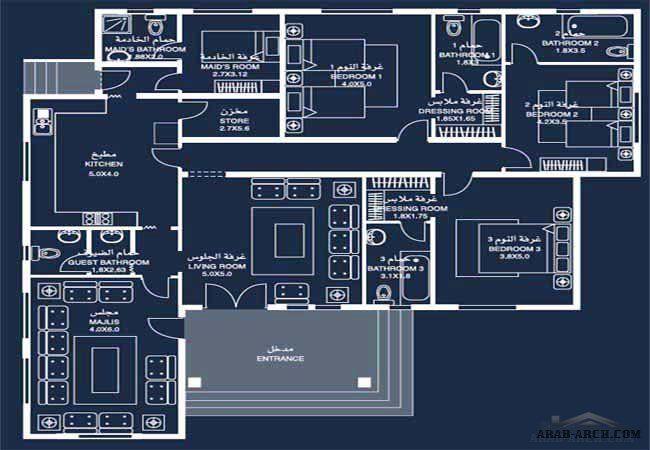 نموذج فيلا برنامج الشيخ زايد 11 Classic House Design Home Design Floor Plans Cat House Plans
