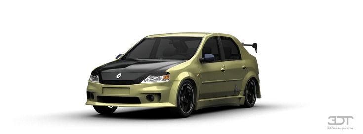 Tuning Of Renault Logan sedan 2010 - 3DTuning