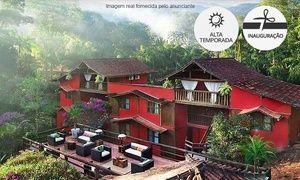 Groupon - Camburi/SP: até 5 noites para 2 ou 4 pessoas (opções no Natal) + café da manhã na Pousada Villa dos Manakas em São Sebastião. Preço da oferta Groupon: R$499