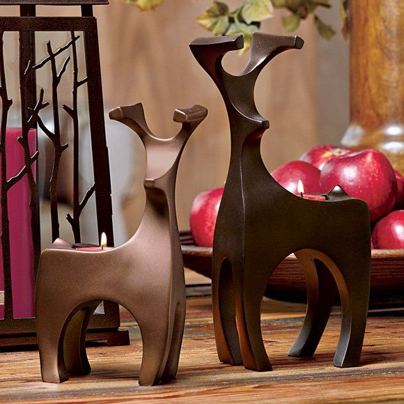 PartyLite Endearing Tealight Holder Pair