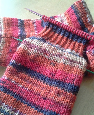 New #knitting #socks on my needles.