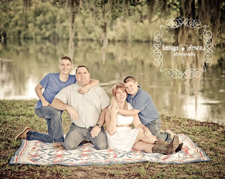 Blog Blue White Brown Country Family Session