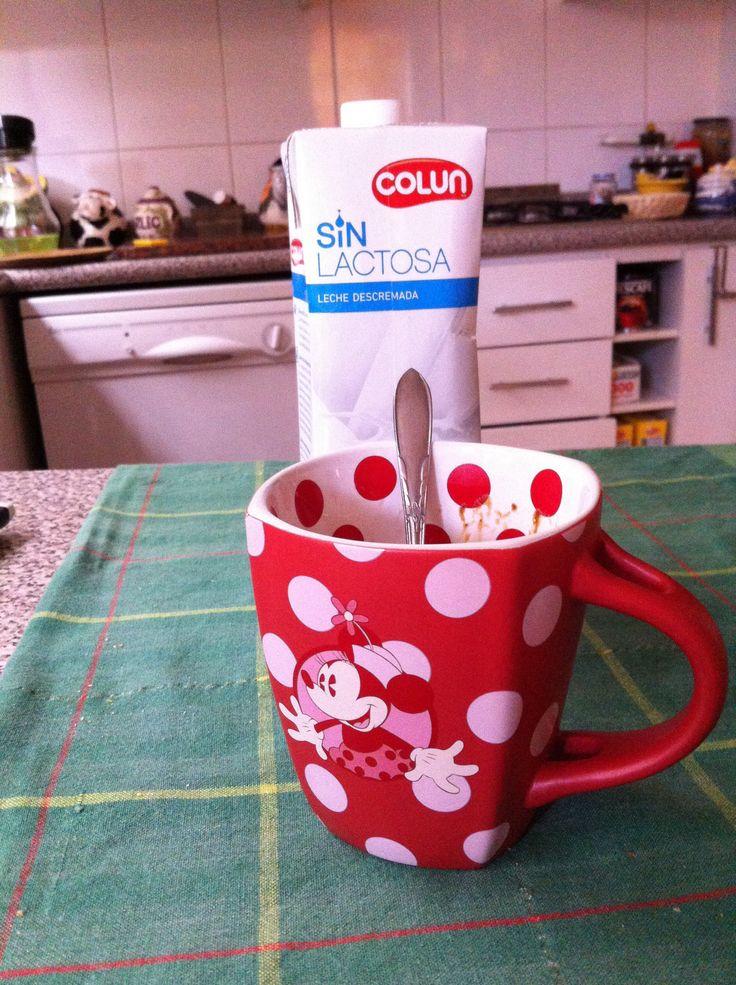 Taza MInni con cafe