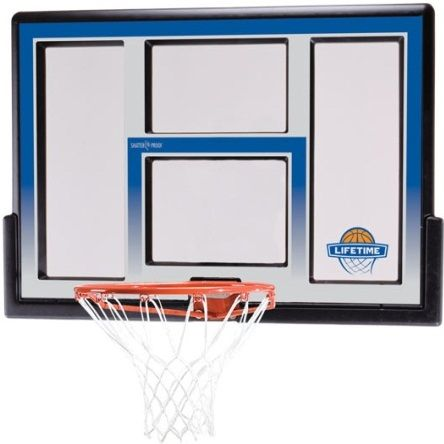 Lifetime Basketball Backboards - 73621 48-inch Fusion Backboard  Rim Combo