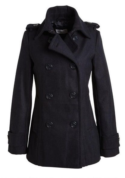 Devin Peacoat: Delias Devine, Coats Jackets, Thread, Coats Etc, Devine Peacoats