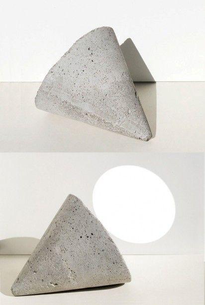 Concrete mirror sculpture: Maryam Nassir, Mirror Sculptures, Sculpture Mirror, Desktop Vanities, Mirrors Specchi, Concrete Mirror, Vanities Mirror, Concrete Desktop, Concrete Sculpture