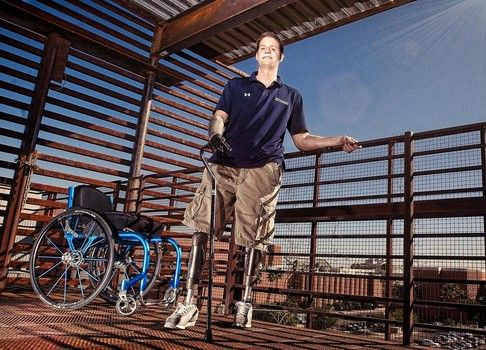 Veterans Administration Back Charges Triple Amputee Brian Kolfage Thousands of Dollars