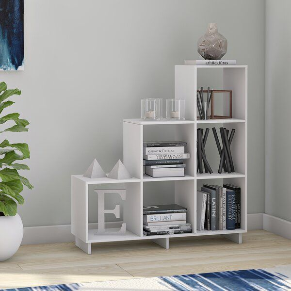 Susannah Stair Step Bookcase In 2020 Step Bookcase Cheap Office Furniture Bookcase