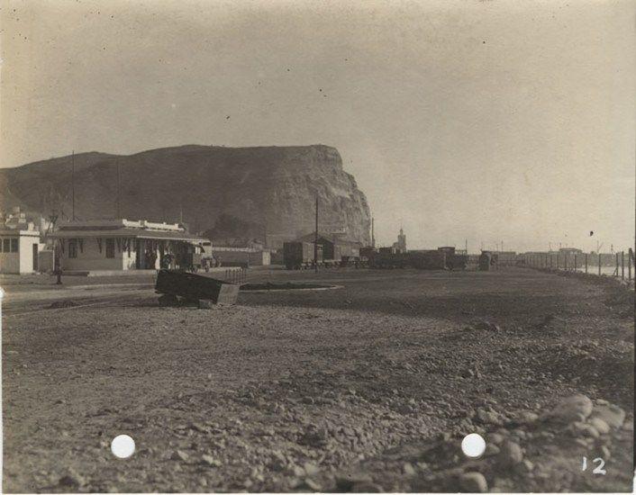 Estación de Ferrocarriles de Arica en 1929 Archivo General Histórico.  - EnterrenoEnterreno