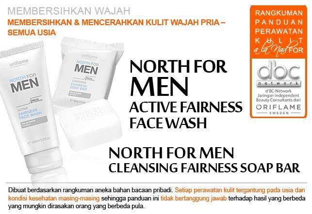 North For Men Active Fairness Face Wash  #pembersih #wajah  #mencerahkan #kulit  #pria #semuausia #tipsdBCN #Oriflame