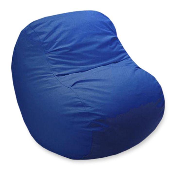Large Big Bean Denim Bean Bag Chair - 7BBCCOBK.