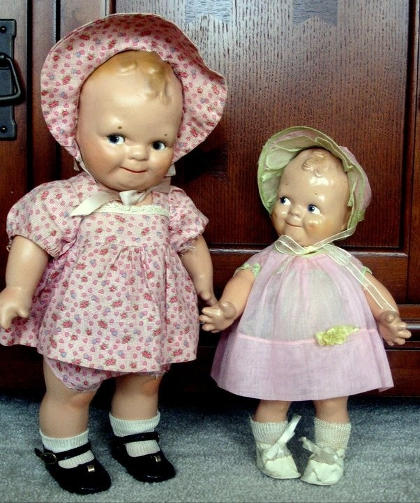 Love of Old Dolls. OMG I  these!!!
