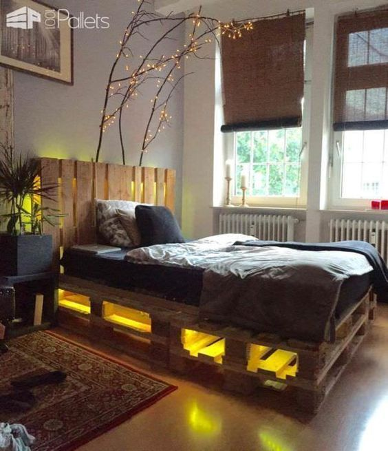 62 Creative Recycled Pallet Beds You'll Never Want To Leave!  Page 6 of 6