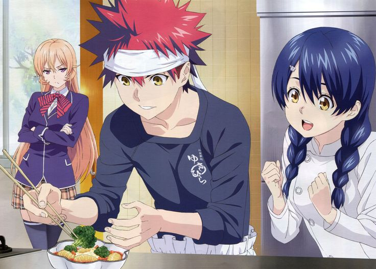 Food Wars Alice Twins