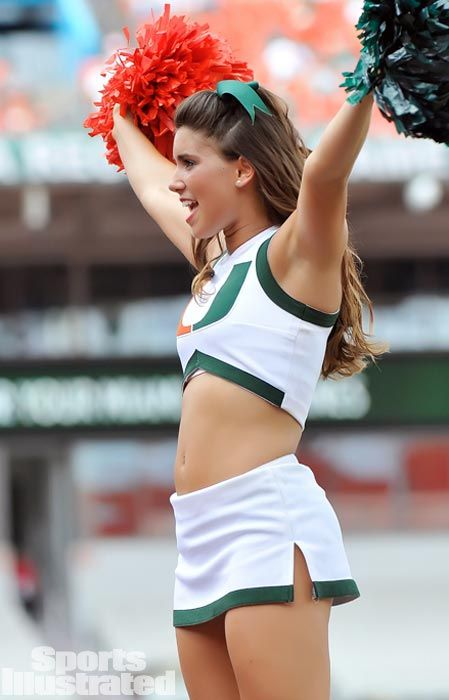 Meet Nicole, a cheerleader for the University of Miami. | College ...