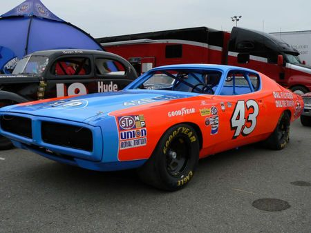 Richard Petty Charger Nascar Race Car Dodge Wallpaper Id