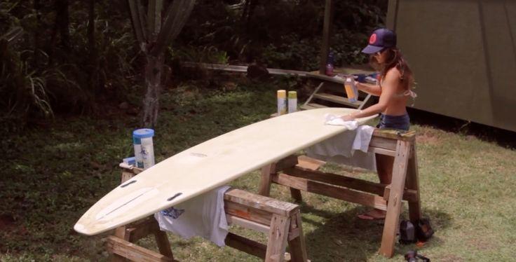 Comment peindre sa planche de surf ?