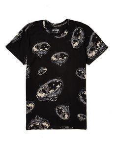 Eleven Paris T Shirt with Lil Wayne Back Print Flat