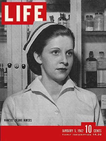 thank God the days of white uniforms and nursing caps are days of old.