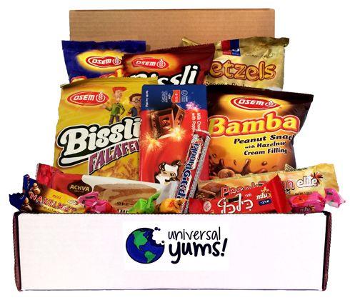 Universal Yums | International Snack Subscription Box