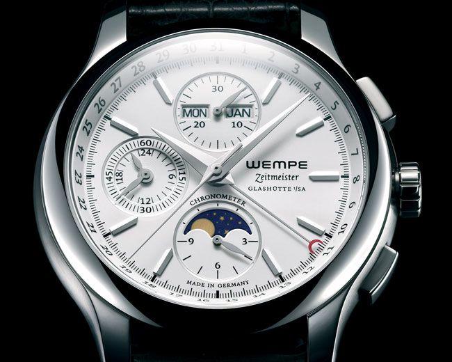Wempe Zeitmeister Chronograph Vollkalender Mondphase