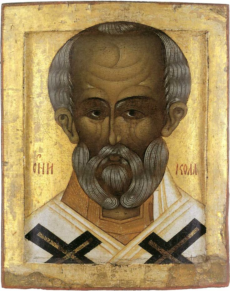 St Nicholas the Wonderworker. Third quarter of the 16th century